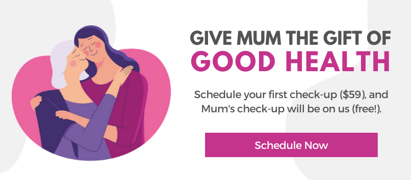 Mother's Day Chiropractic Check Up Promo