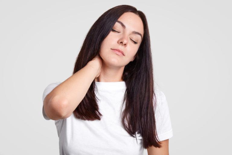 I woke up with a stiff neck. Help!