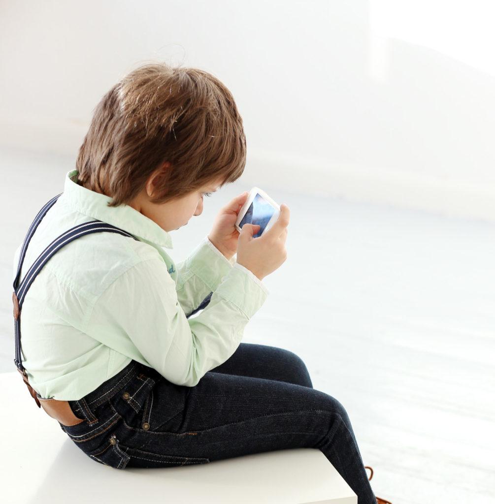 kid with poor posture