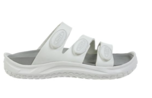 MBT LAMU Women's Recovery Sandal In White