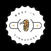 Best in Singapore Badge No BG